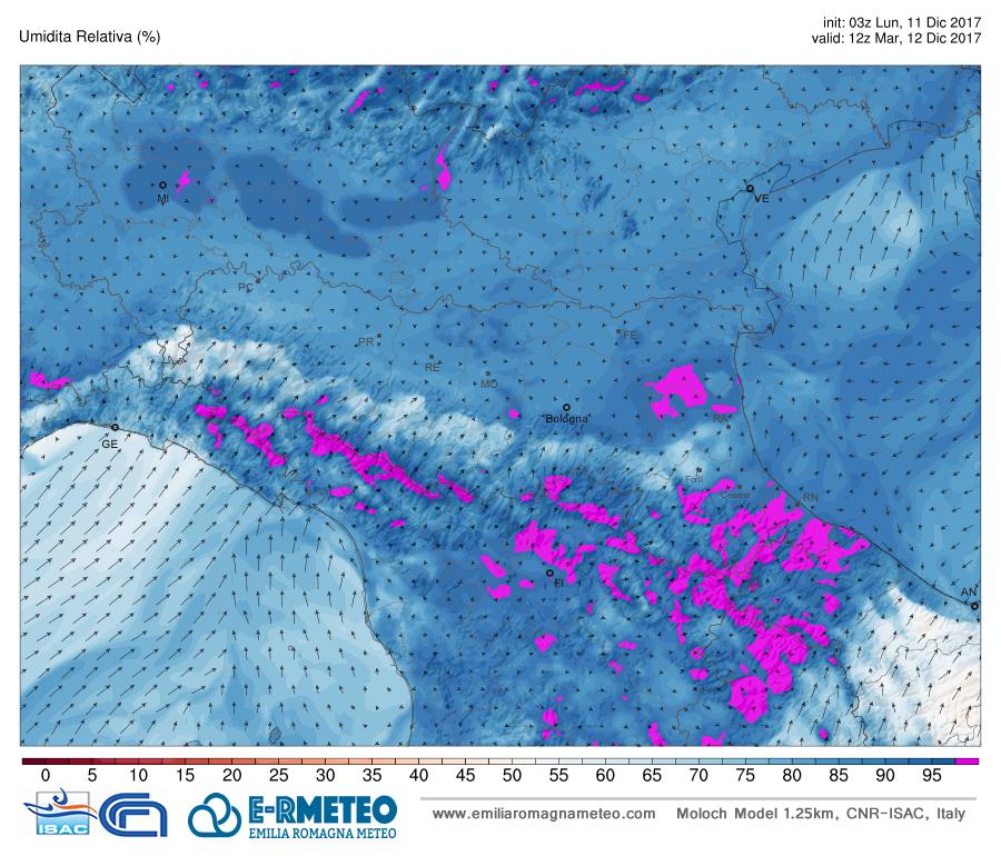 T+36h 500HPA elaborazione Wettrzentrale.de